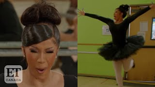 Cardi B Learns Ballet In Hilarious New Series 'Cardi Tries'