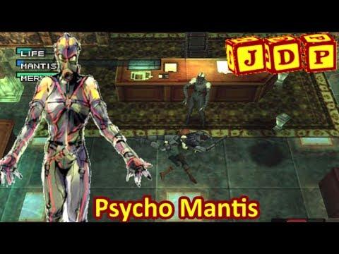 PSYCHO MANTIS (Metal Gear Solid) --- JEFES DEL PEO #1