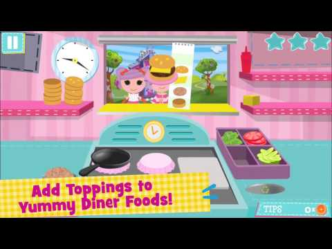 Lalaloopsy Diner App for Kids