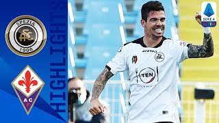 Spezia 2-2 Fiorentina | Spezia Perform Brilliant Comeback to Claim a Point! | Serie A TIM