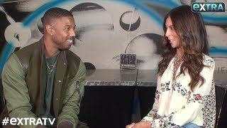 Michael B. Jordan on His Intense 'Creed 2' Diet, Plus: His Sweet Comments About Tiffany Haddish