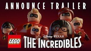 LEGO The Incredibles - Announce Trailer
