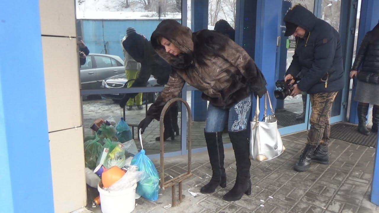 Волгоград: свалка протеста под дверью мусорной компании