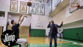 The Jump reacts to Gordon Hayward rehab update | The Jump | ESPN