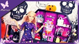 Rodzinka Barbie #27 * UPIORNA SYPIALNIA - KEN BOI SIĘ PAJĄKÓW?? * Bajka po polsku lalkami HALLOWEEN