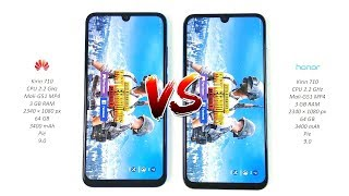 Huawei P Smart 2019 vs Honor 10 lite - Speed Test!