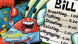 Mr. Krabs' GREEDIEST Moments Ever! 🦀💰 SpongeBob