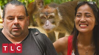 Monkey Steals Big Ed's Banana! | 90 Day Fiancé: Before The 90 Days