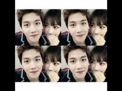 EXO's Baekhyun and SNSD's Taeyeon 2014 Couple
