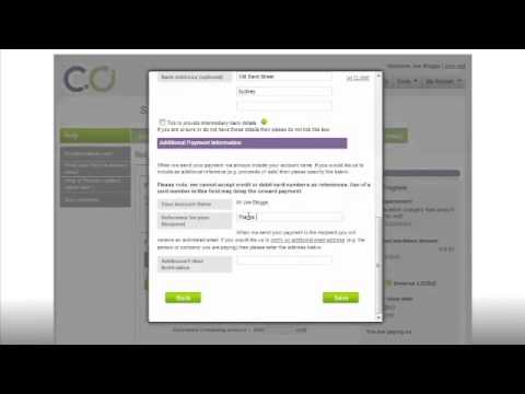 CurrencyOnline Spot Transfer Tutorial