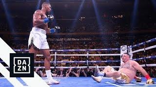 One Of The Greatest Rounds Ever?   Full Third Round Of Joshua vs. Ruiz Jr.
