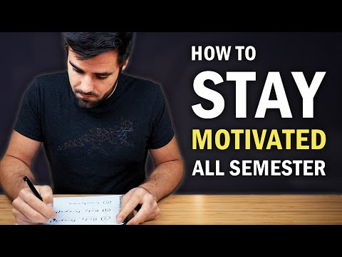 How to Stay Motivated for the Entire School Year photo