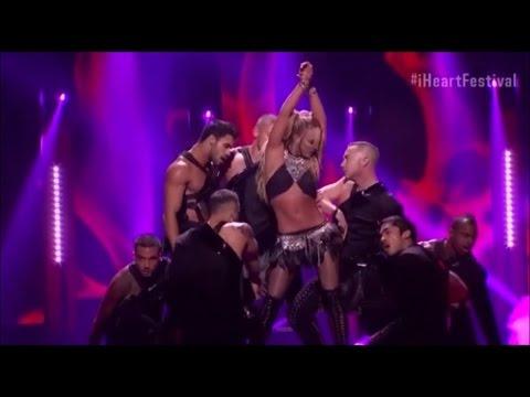 Britney Spears--I'm A Slave 4 U (live) (iheartRadio Music Festival 2016)