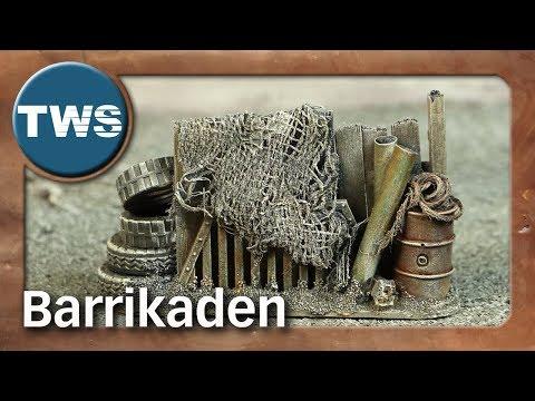 Atelier: Barrikaden / barricades (Tabletop-Gelände, TWS)
