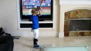When You Let Your Kid Play Ball in the House, 4 year-old Baseball Christian Haupt www.cathy-byrd.com
