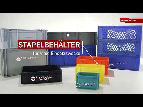 Stapelbehälter von WALTHER Faltsysteme