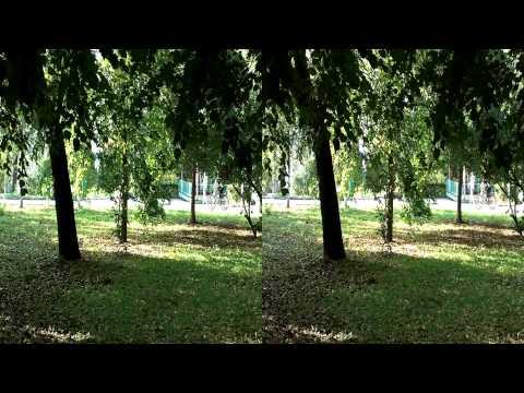 Самара в 3D. Струковский сад. Осень.