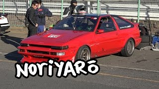 World's maddest AE86 drifter