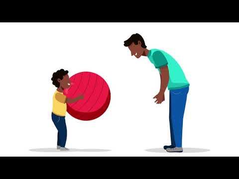 Det finns många roliga sätt att röra på sig med barn. Här tipsar vi om några av dem!