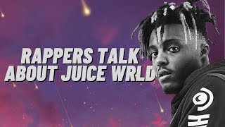 Rappers Talk About Juice WRLD (Roddy Ricch, Post Malone, Eminem, Young Thug, Lil Dicky, and More)