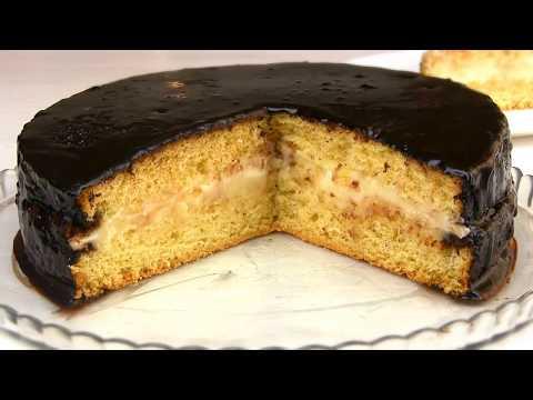 Самый ПРОСТОЙ Бисквитный Торт