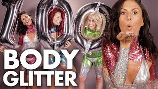 Full Body of GLITTER?! – 100th Beauty Trippin