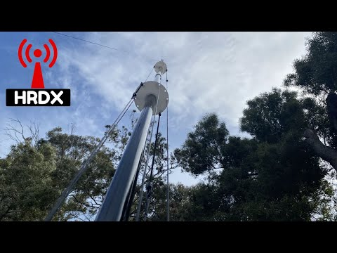 DX Commander moving in the wind #shorts #hamradio
