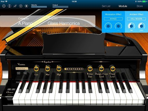 KORG Module ◾ Let's Play The IVORY Grand Piano Pack ◾ iPad Demo