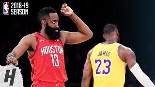 Houston Rockets vs Los Angeles Lakers - Full Highlights | February 21, 2019 | 2018-19 NBA Season
