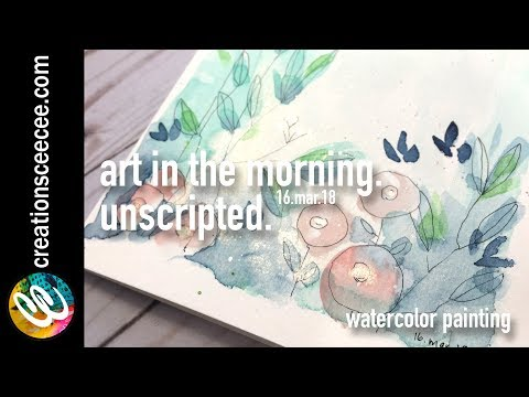 watercolor painting: reversing the process