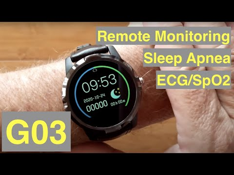 Bakeey G03 Dress Smartwatch with ALL THIS: ECG/Pulse/BP/HRV/Sleep Apnea/SpO2/More: Unbox & 1st Look