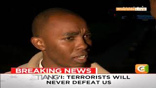 Recounts of a worker at Dusit Complex who survived, saved many during attack