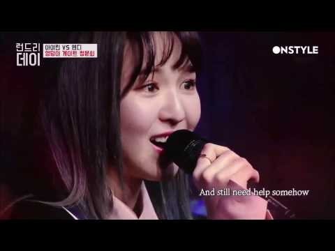 웬디 Wendy(Red Velvet) Singing English Song