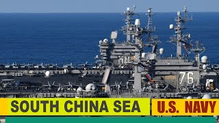 China-Panic: How the US Navy Conducts Dual Aircraft Carrier Operations in South China Sea