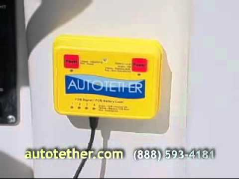 Autotether Wireless lanyard/boat kill switch