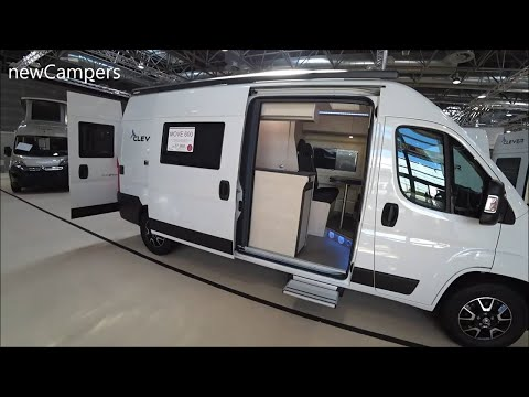 The 2020 CLEVERVANS MOVE 600 camper