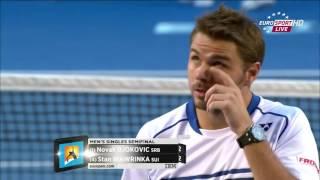 2015 - Australian Open - Semifinale - Novak Djokovic b Stan Wawrinka 7/6(1) - 3/6 - 6/4 - 4/6 - 6/0