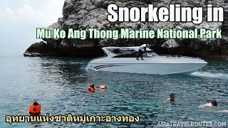 Snorkeling in Mu Ko Ang Thong Marine National Park