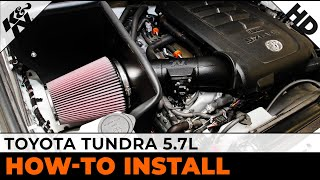 Toyota Tundra 5 7l 63 9036 Air Intake Installation Youtube