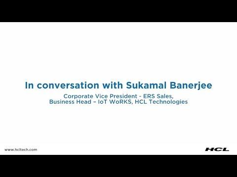 Sukamal Banerjee at the World Economic Forum | HCL Technologies