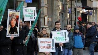 Стамбул: черкесы протестуют против давления на репатриантов в России
