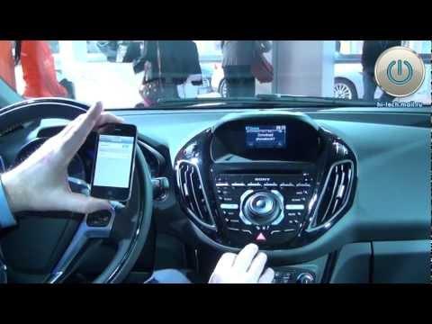 Ford B-Max - на MWC 2012 впервые представлен автомобиль