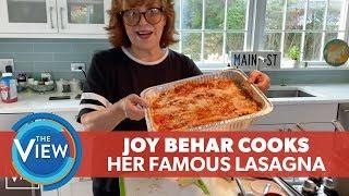 Joy Behar Cooks Her Famous Lasagna  | The View