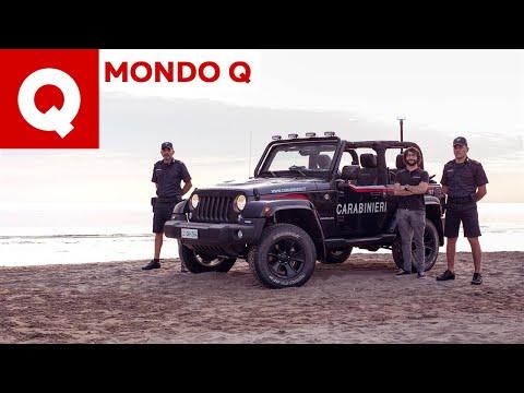 Tutti i segreti della Jeep Wrangler dei Carabinieri (+ fermo in diretta)