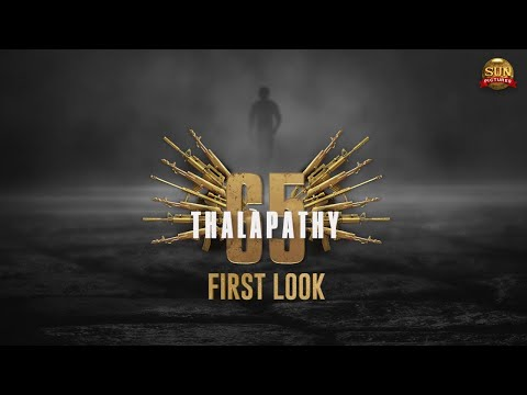 Thalapathy 65 titled 'Beast' first look revealed- Thalapathy Vijay