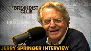 Jerry Springer Interview at The Breakfast Club