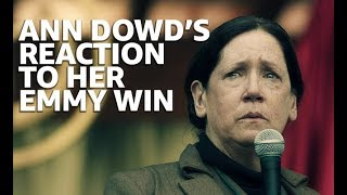 Ann Dowd Still Stunned by Her Emmy Win | EMMYS 2017