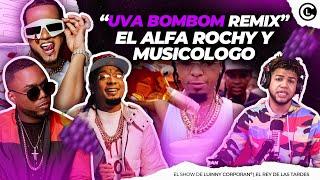 """""""UVA BOMBOM REMIX"""" ROCHY RD, EL ALFA """"EL JEFE"""" Y MUSICOLOGO A PUNTO DE DARSE ESTA CANCIÓN JUNTOS"""
