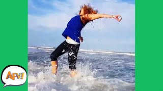 Ready, Set... SPLASH and SPLAT! 😂 | Funny Fails | AFV 2020