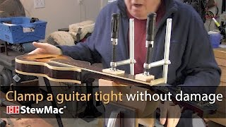 Watch the Trade Secrets Video, Clamping a guitar neck really tight (without damage)